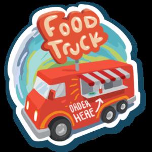 Visit Austin Food Trucks Sticker