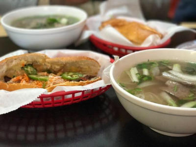 Vietnamese restaurant, Mi Li Cafe