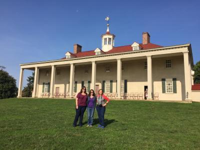 Pre-MATPRA tour at Mount Vernon