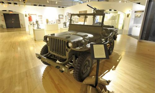 Friends of the NYS Military Museum Jeep