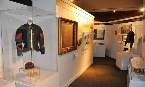 Friends of the NYS Military Museum Jacket Displayed