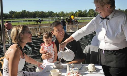Saratoga Race Course Breakfast at the track