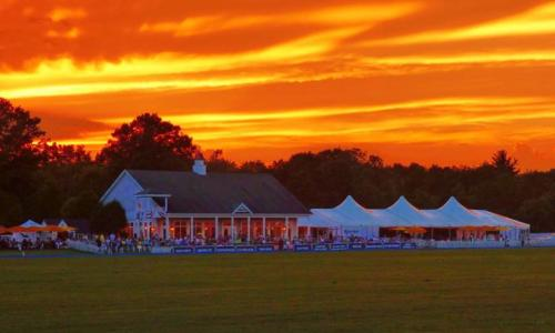 Saratoga Polo sunset