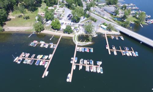 Lake Local Aerial Shot