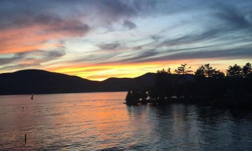 Lake George Shoreline Cruises Shoreline Sunset