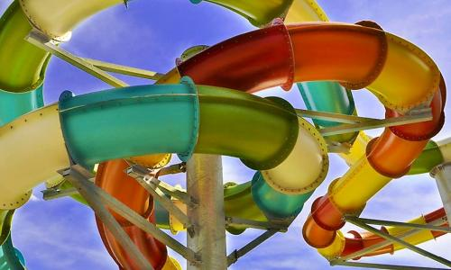 Great Escape Water Tubes