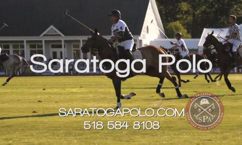 Saratoga Polo business card photo