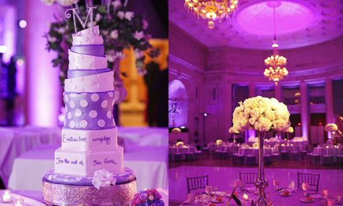 Wedding Cake at the Hall of Springs