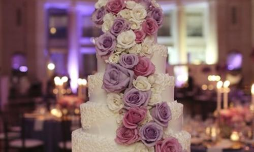 Wedding Cake by the Hall of Springs