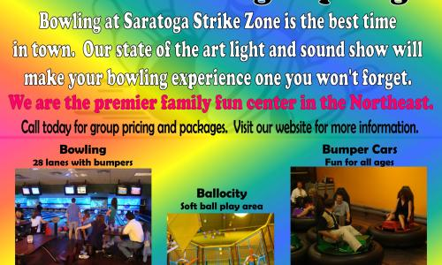 Bowling in Saratoga