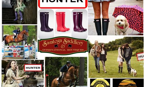 Hunter Boot Banner Wellies Outback boots