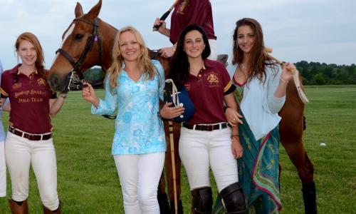 Saratoga Saddlery Polo Team Girls crop