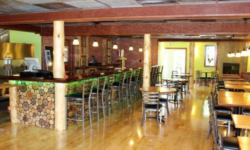 Interior of Dizzy Chicken Saratoga Springs