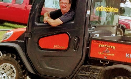 Saratoga County Fair tractor