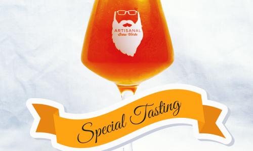 Artisnal Brew Works Beer Special Tasting banner