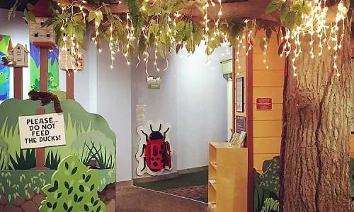 Children's Museum Lady Bug Wall