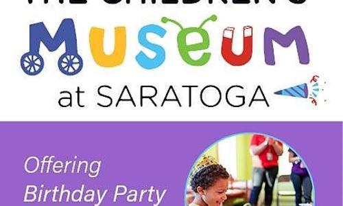 Children's Museum Birthday Party Info