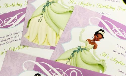 Camelot Print and Copy Centers invitations