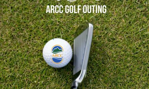 ADK Regional Chamber of Commerce golf outing poster