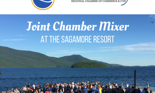 ADK Regional Chamber of Commerce Sagamore mixer poster