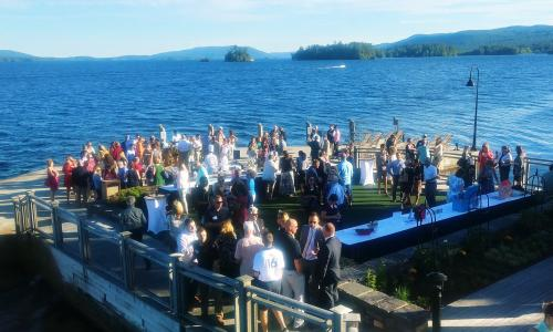 ADK Regional Chamber of Commerce mixer at the Sagamore