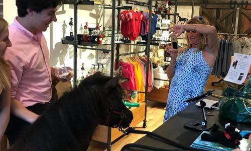 Dark Horse Mercantile Upset inside the store