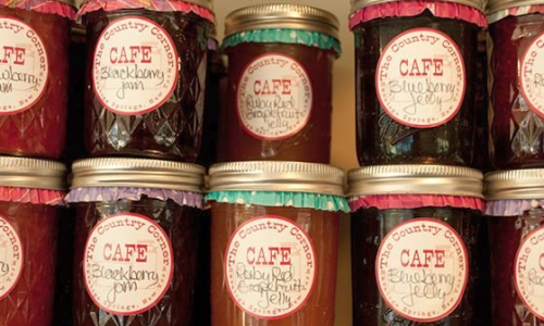 Bottled Jams and jellies