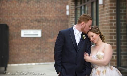 Metroland Photo Groom Kissing Brides Head