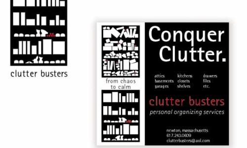 Designsmith Studio Conquer Clutter ad