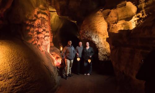 Howe Caverns Lantern Tour