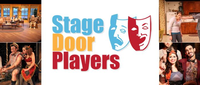 Stage Door Players Banner with Logo