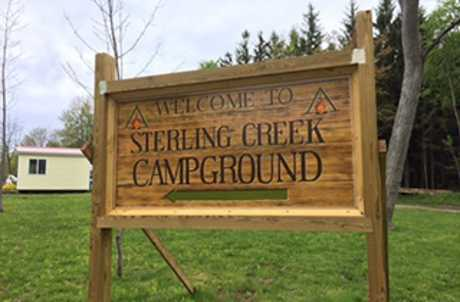 Sterling Creek Campgrounds for TourCayuga