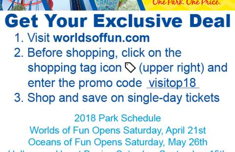 Worlds of Fun 2018 Discount Code