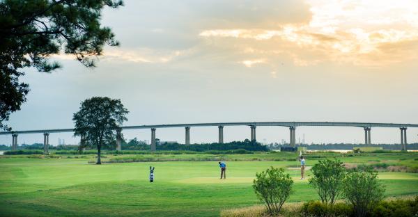 Golfing in Lake Charles, Louisiana is year around!