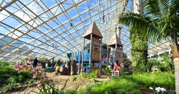 Fairy Tale Gardens at the Botanical Conservatory