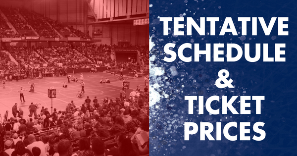 graphic for schedule and ticket prices