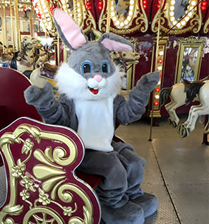 Easter Bunny at RWP Zoo