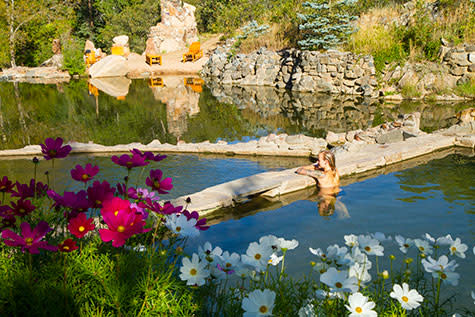 Strawberry Park Hot Springs Summer