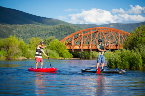 Paddleboarding Steamboat Springs