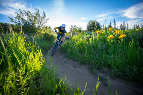 Mountain Biking Steamboat Springs
