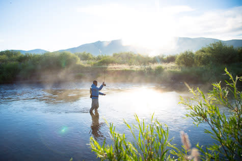 Fishing Steamboat Springs