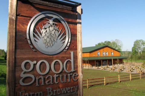Farm Brewery Sign