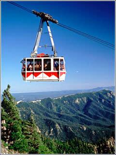 Sandia peak tram by jay blackwood