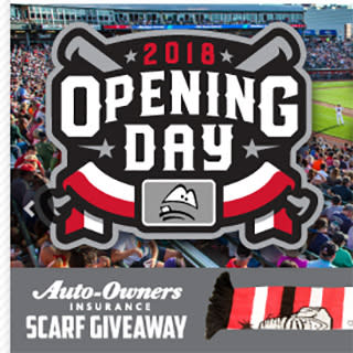 Lugnuts 2018 Opening Day