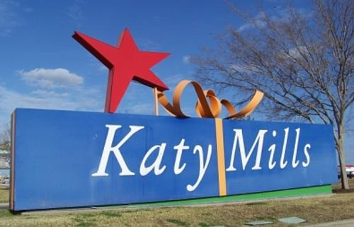 Katy Mills Entry Sign at Houston Premium Outlets in Texas
