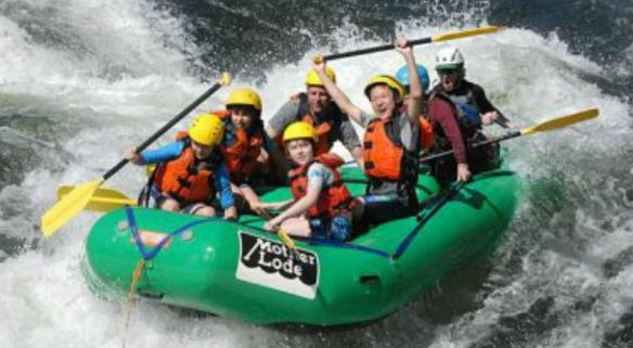 Mother Lode River Center White Water Rafting for Kids and Adults