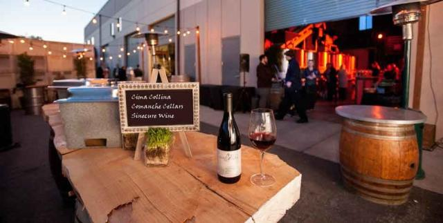Urban Wine Row in Marina