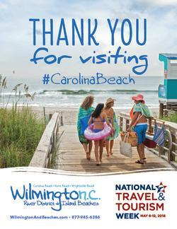 National Tourism Week 2018 Carolina Beach poster