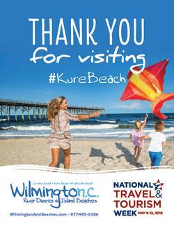 National Tourism Week Kure Beach 2018 Poster