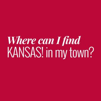 Where to find KANSAS!